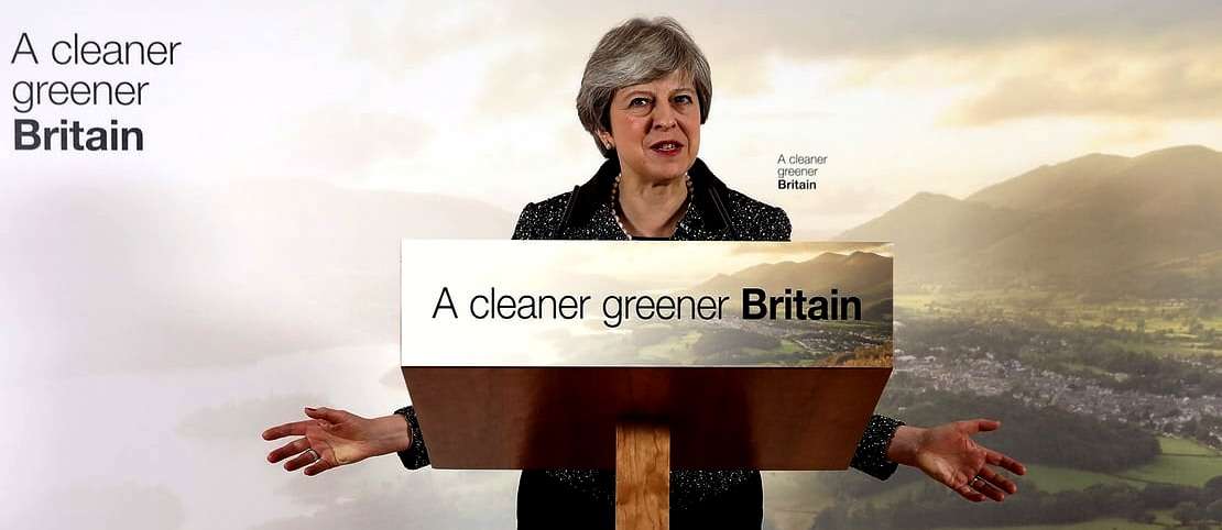 Theresa May's plan for a cleaner Britain