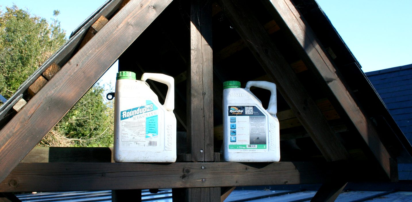 Glyphosate is one of the ingredients of RoundUp Pro